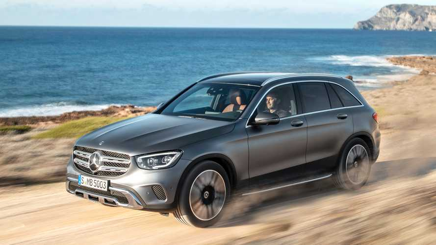 Mercedes GLC Facelift (2019) in Genf