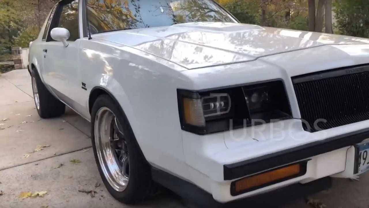 1987 Buick Regal Turbo T – Mercedes M275 V12 engine swap