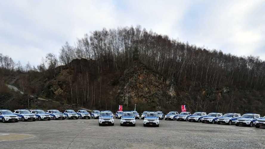 Land Rover Discovery (2018) für die Bundespolizei