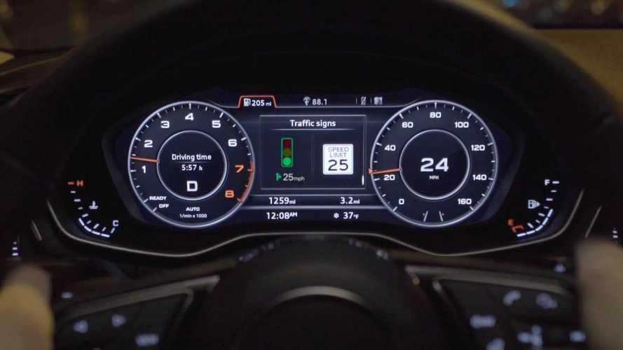 Audi GLOSA: Grüne-Welle-Anzeige