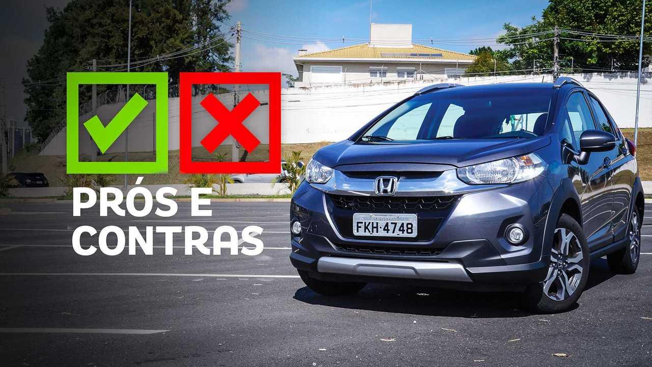 Honda WR-V: Prós e Contras