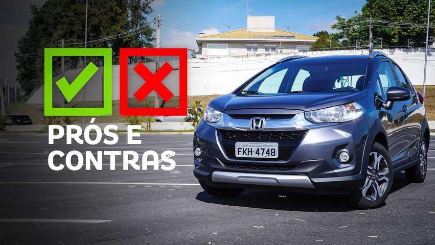 Honda WR-V EX 2019: Prós e contras