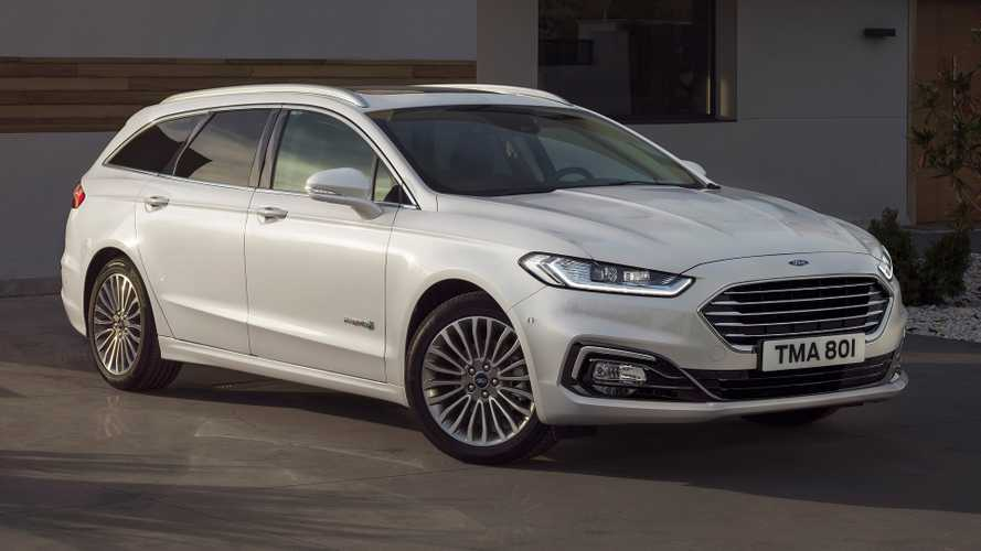 Ford Mondeo facelift revealed with new hybrid estate version