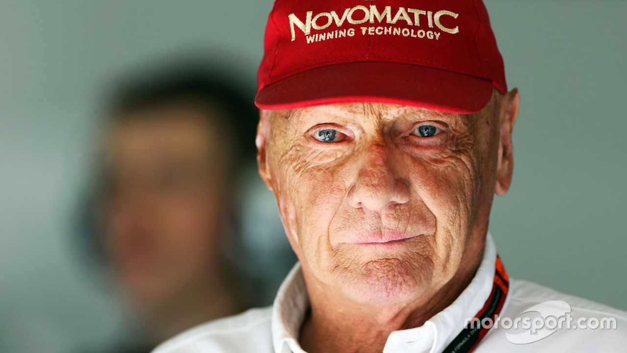 Niki Lauda at Bahrain GP 2015