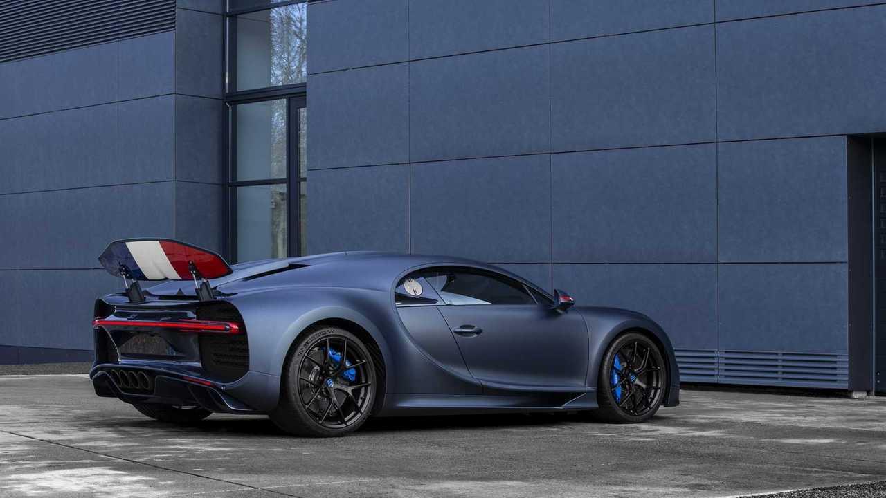 Bugatti Chiron Sport 110 éves Bugatti
