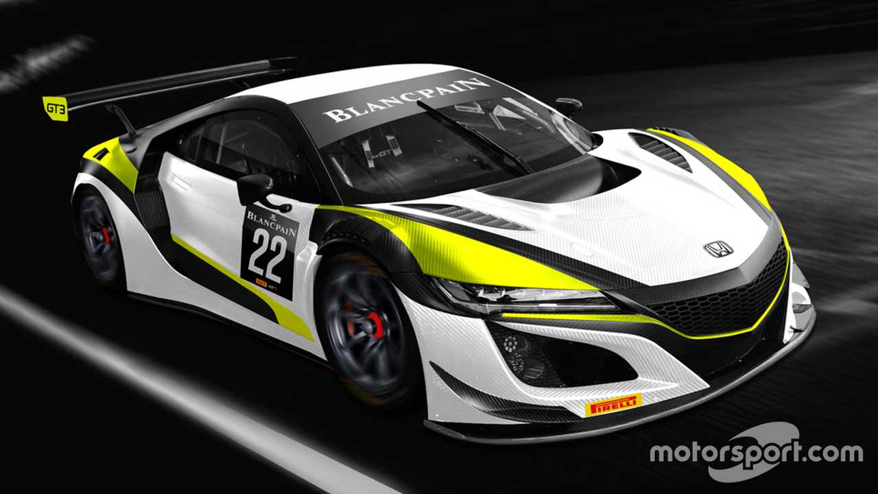Honda NSX GT3 Evo Jenson Team Rocket RJN