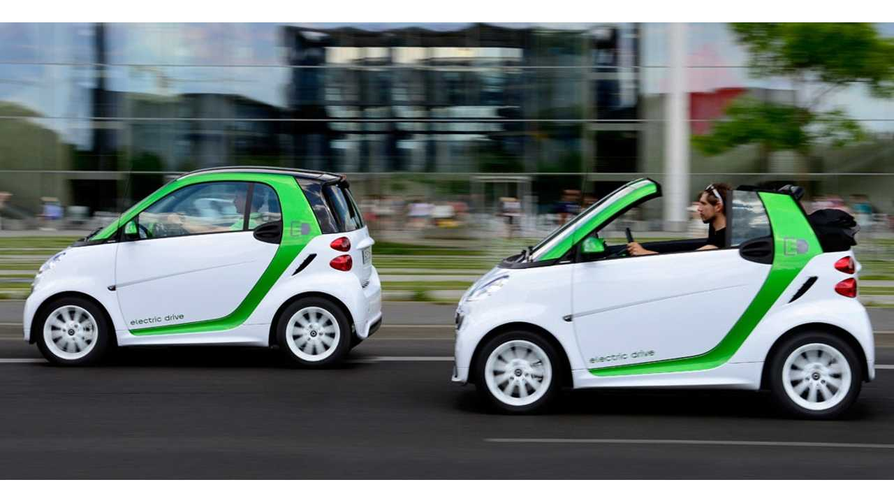 Smart ForTwo Electric Production Kicked Off Today, Can Be Had For $26,300*