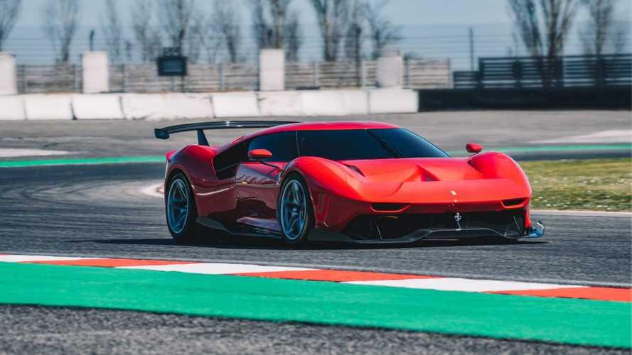 Ferrari P80/C, la fuoriserie nata dalla pista