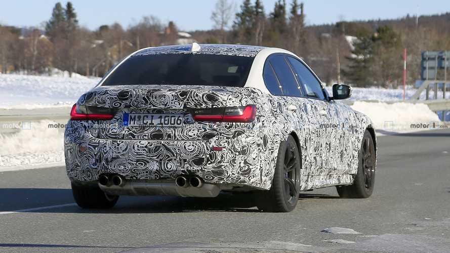 La nouvelle BMW M3 rôde dans les parages