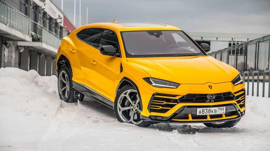 Зимний бык: Lamborghini Urus