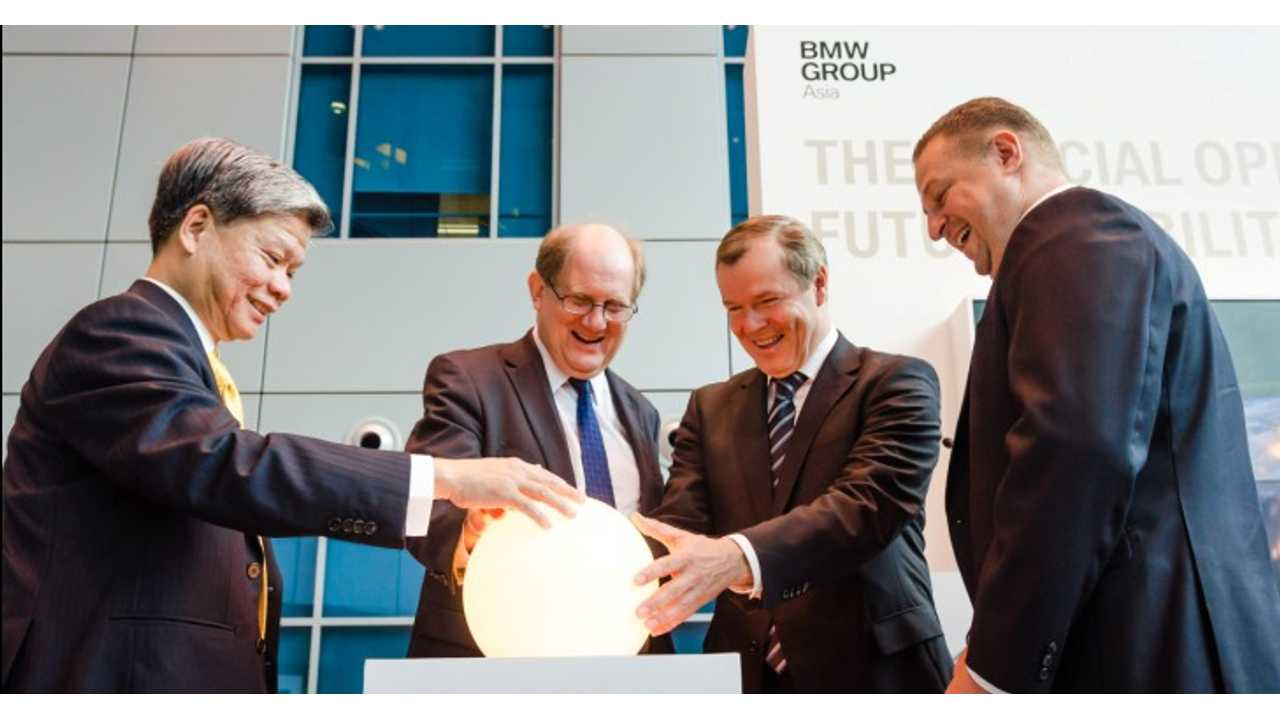 BMW to Open Advanced Battery and Electric Vehicle Research Lab in Asia