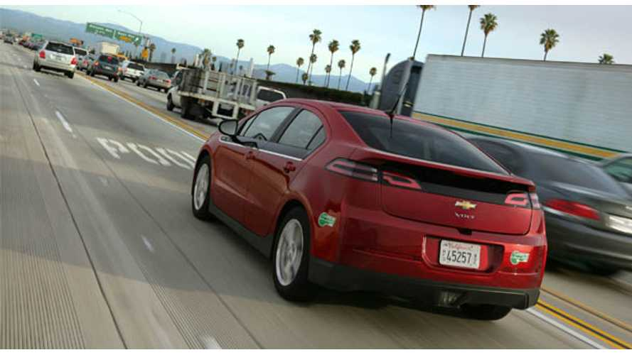 Chevy Volt Listed Top Pick by AAA in Compact Commuter Category