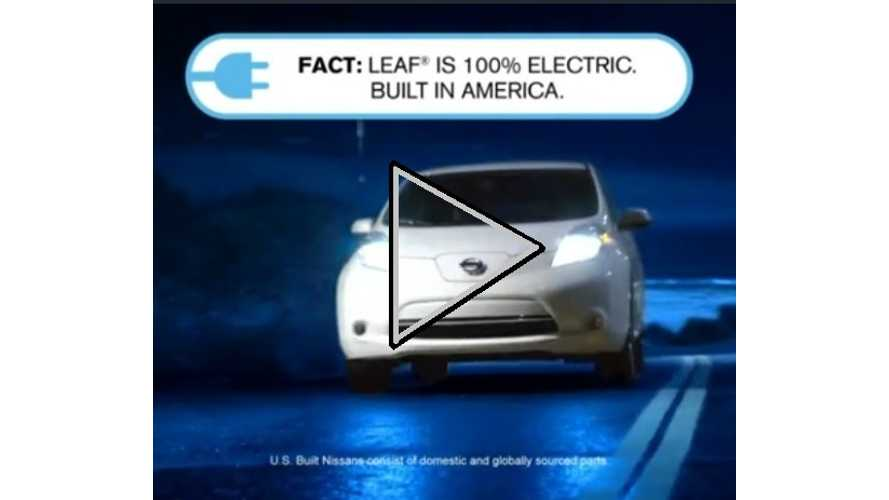 2013 Nissan LEAF Ad Campaign Kicks Off...And Gets It Right This Time (Video)