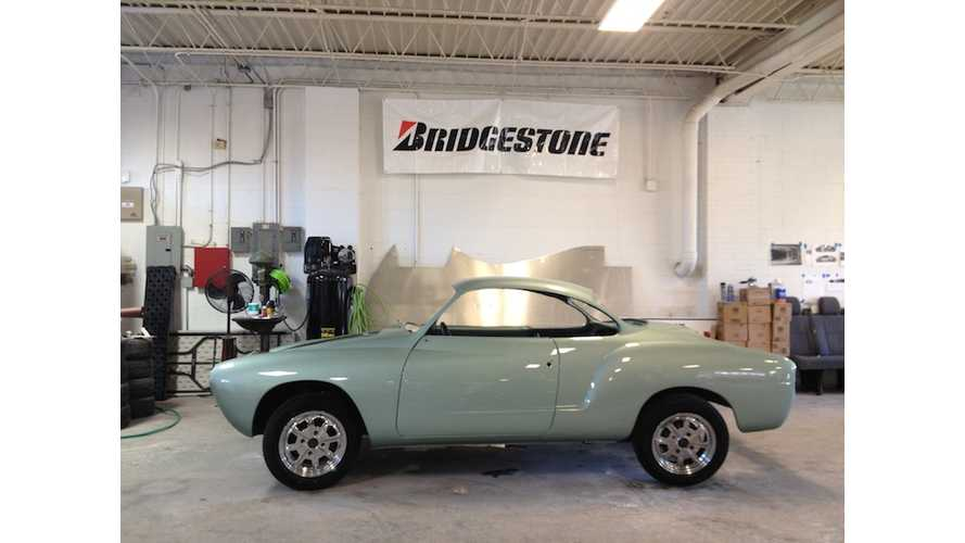 At Risk Teens Build Electric Karmann Ghia for Kansas City Auto Show (Video)