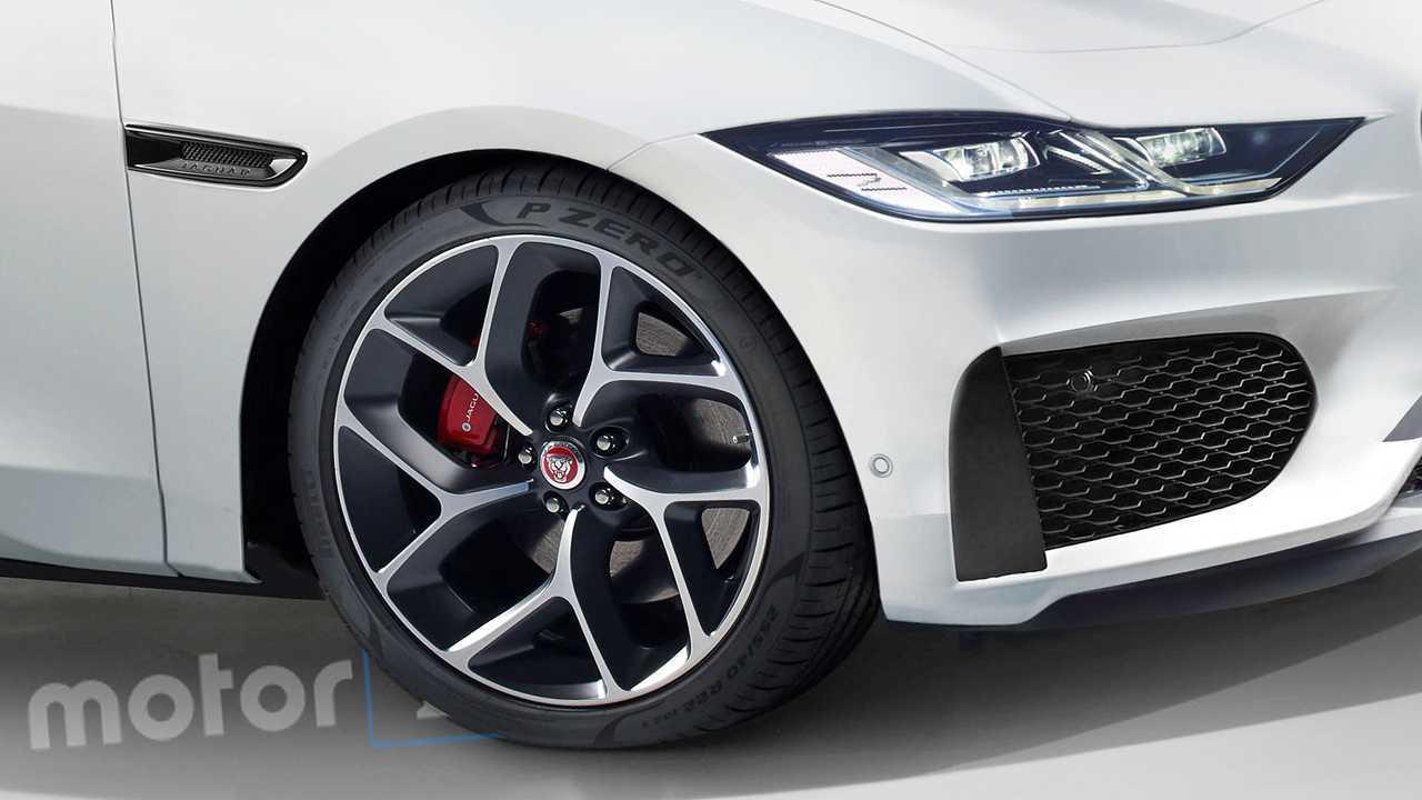 Nuova Jaguar XJ, il rendering
