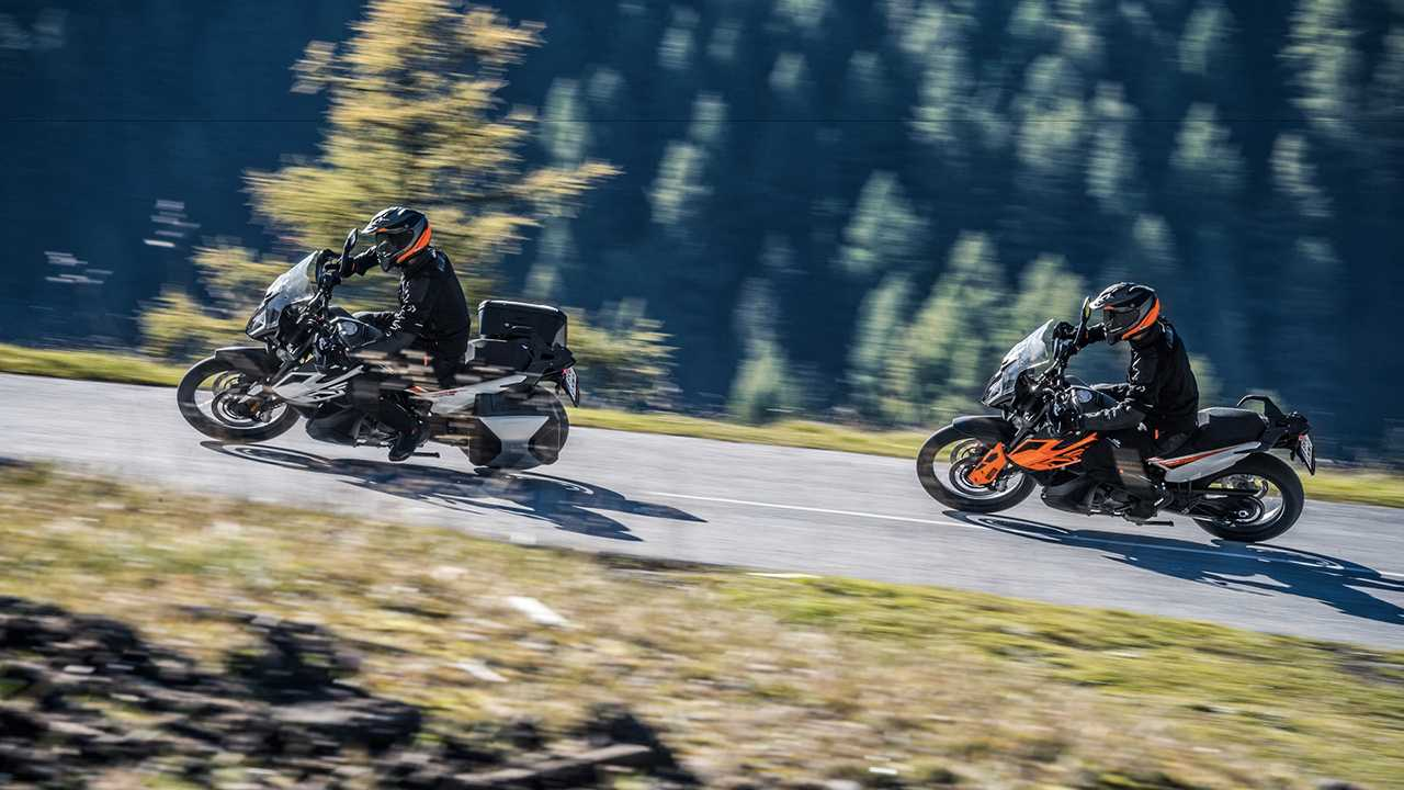 2019 KTM 790 Adventure and Adventure R