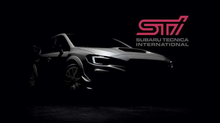 Subaru WRX STI S209 Drops Camo In Revealing Teaser Image