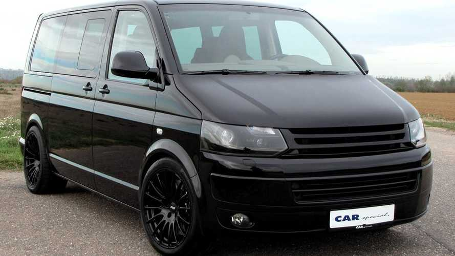 Porsche 911 Turbo Motorlu VW Transporter
