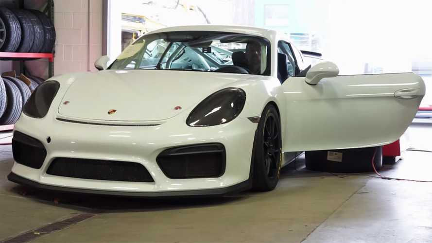 Tuner's 4.25-litre Cayman GT4 beats Porsche to the punch