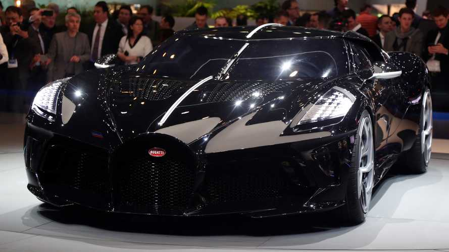 Bugatti La Voiture Noire Allegedly Bought By Cristiano Ronaldo [UPDATE]