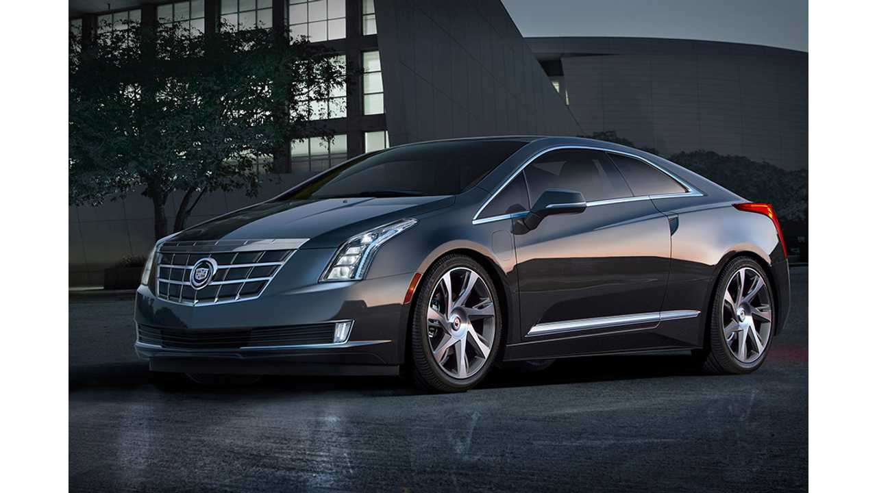 The Cadillac ELR is described as luxury evolution of the current Volt.