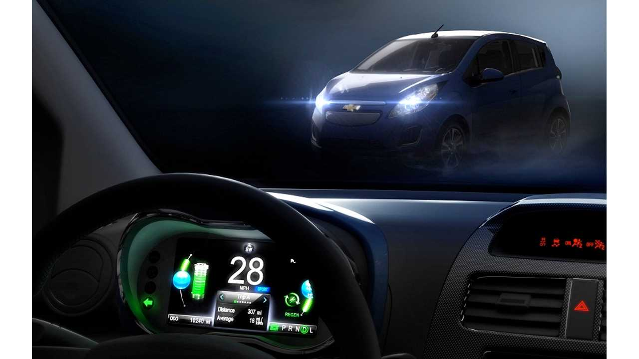 Chevrolet Spark EV To Debut This Month At LA Auto Show