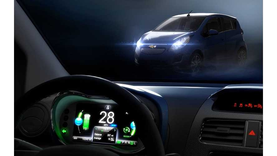 Chevrolet Spark EV To Debut This Month At LA Auto Show