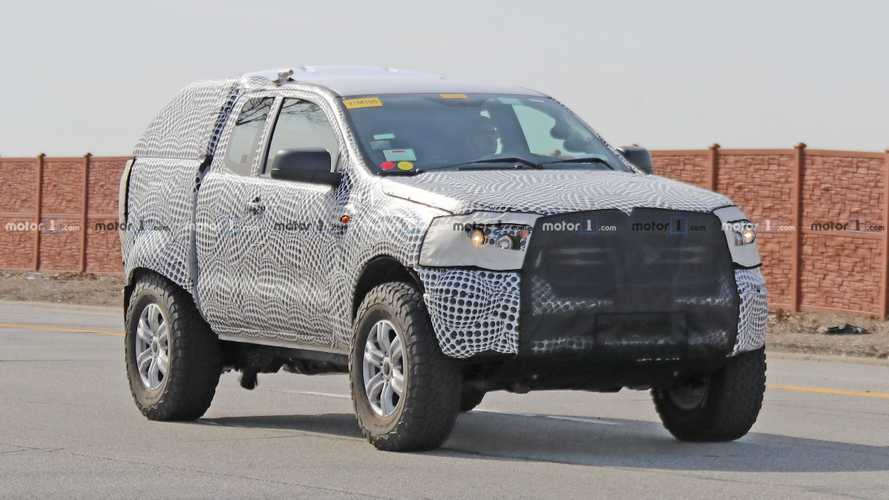 Ford Bronco Test Mule Spied Prowling The Streets Of Dearborn