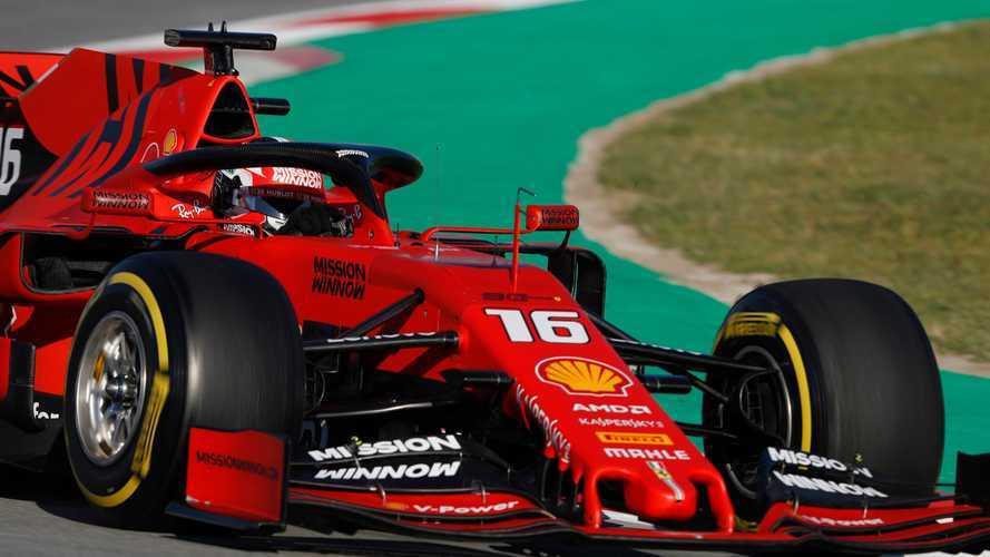 Test F1, Ferrari cambia programma. Leclerc gira tutto il giorno