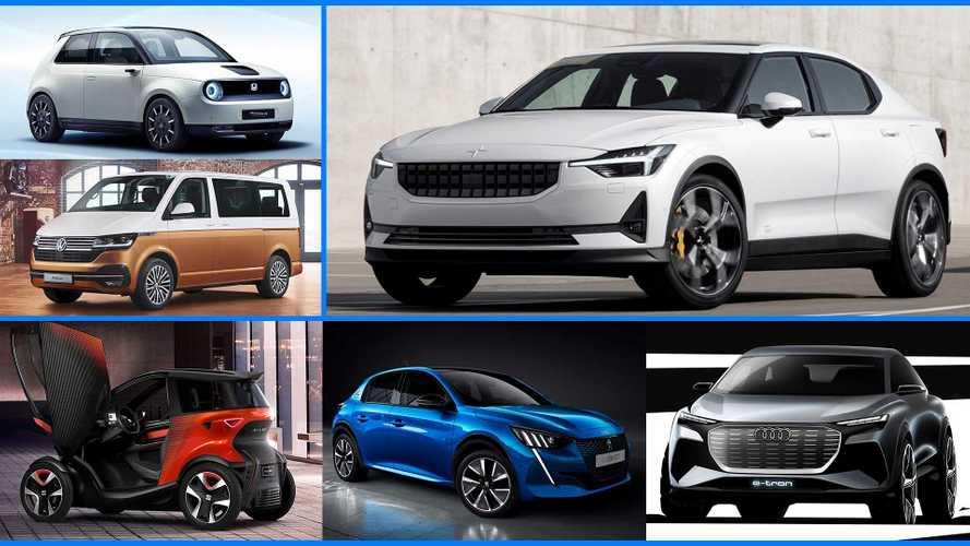 Die Elektroautos auf dem Genfer Autosalon 2019