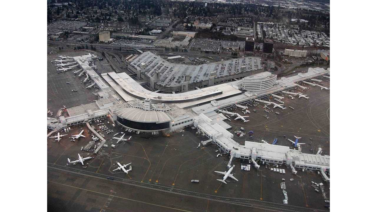 Seattle-Tacoma International Airport Adds 36 Charging Stations