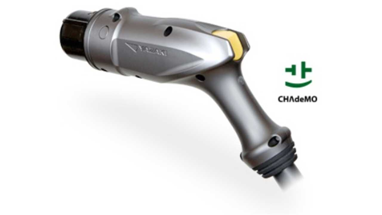 Blink DC Fast Chargers Now With Upgraded CHAdeMO Connector (Video)