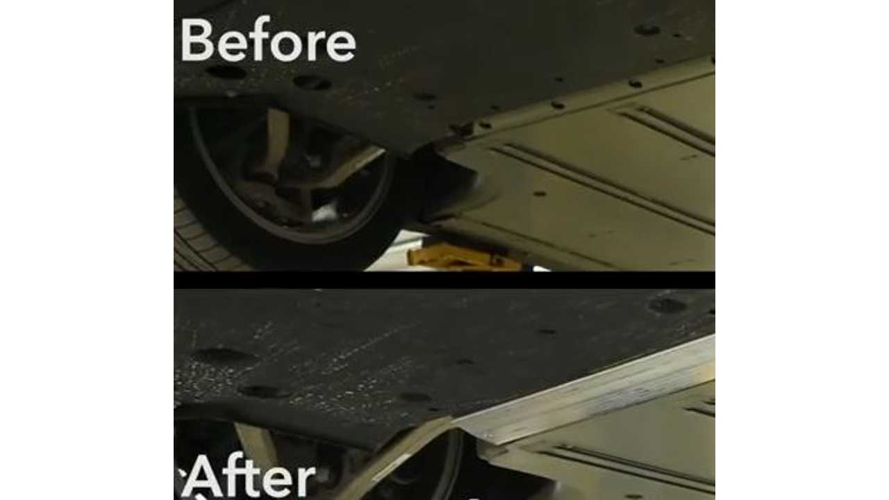 Before And After Underbody Shield Install