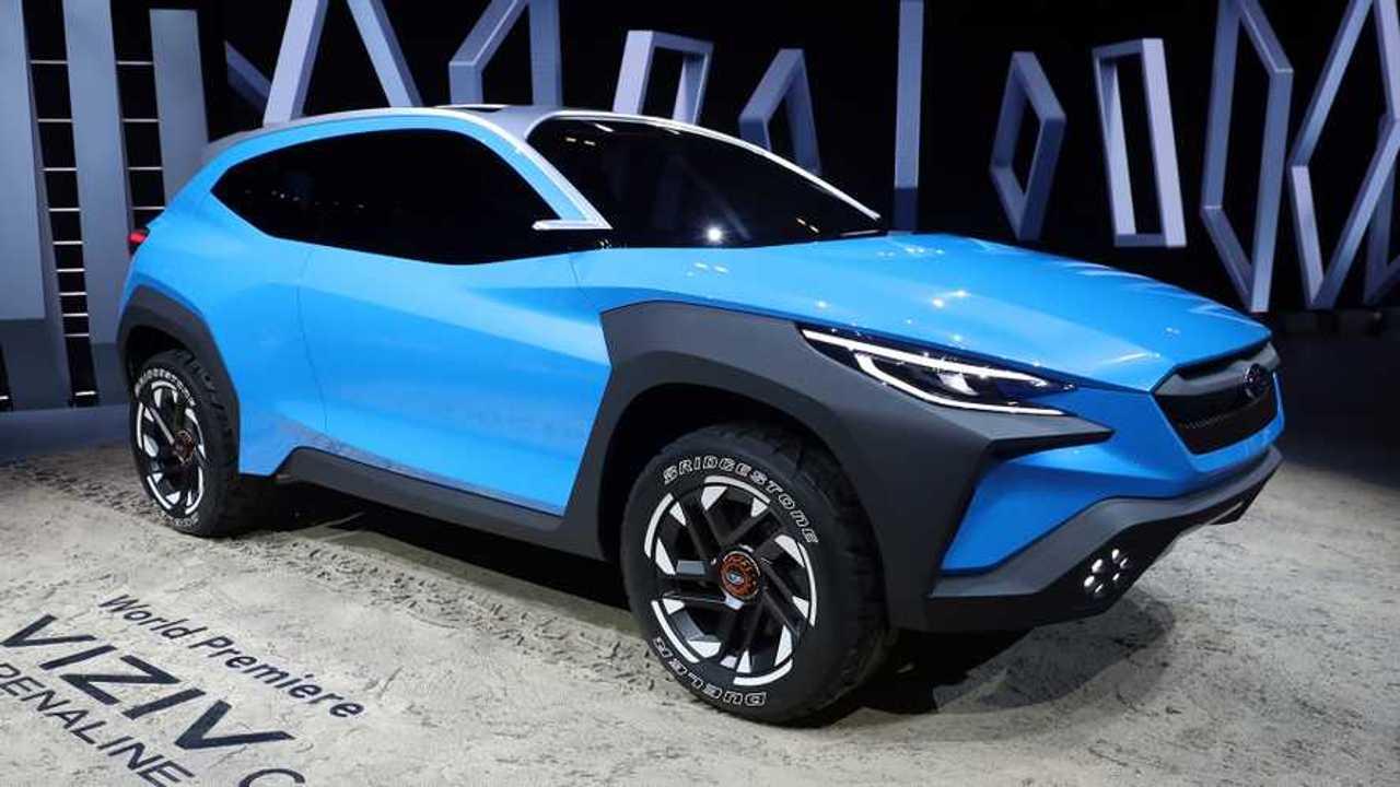 Subaru Viziv Adrenaline Concept: Geneva Live