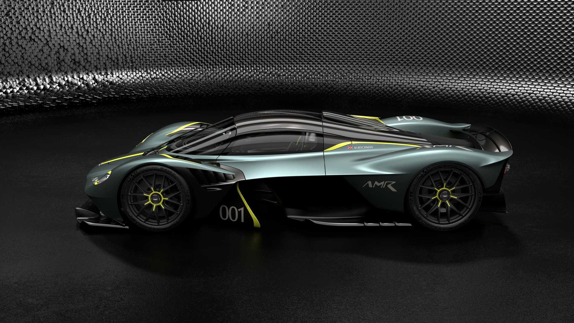 aston martin valkyrie levels up with amr track performance pack