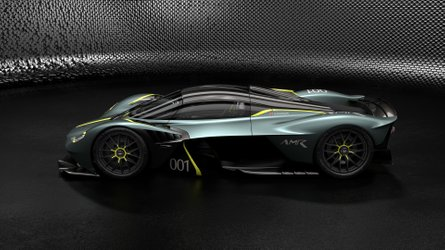 Aston Martin Valkyrie дополнили тюнингом AMR Track Performance Pack