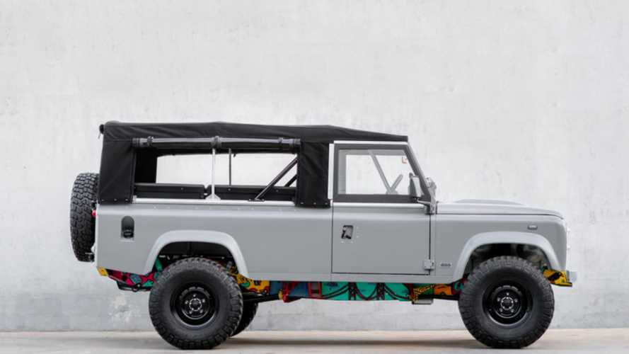 This 1983 Land Rover V8 has a painted chassis for a very special reason