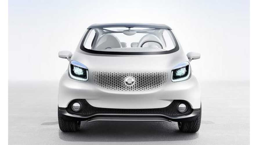 Electric Smart Fourjoy Concept Previews Production Forfour Electric Drive
