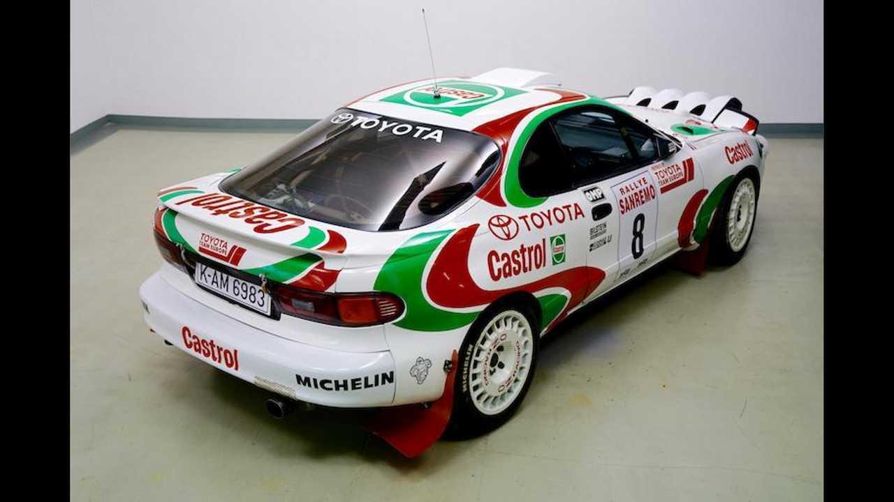 Toyota Celica Rally Car 1994 (Didier Auriol)