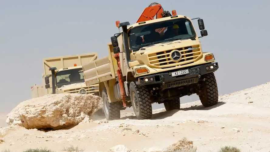 Bauma 2019: Mercedes zeigt coole Unimogs und riesige LKWs