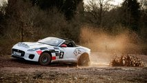 Jaguar F-Type Rally Car