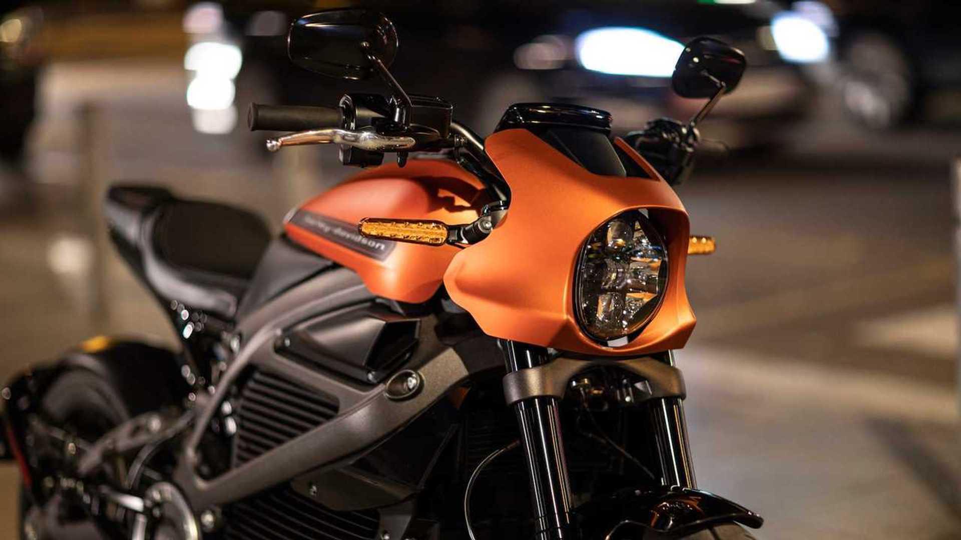 Harley-Davidson Spruces Up The LiveWire Spec Sheet