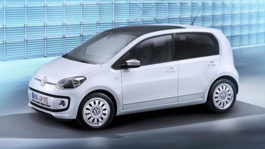 Two-cylinder diesel Volkswagen up! due in 2013