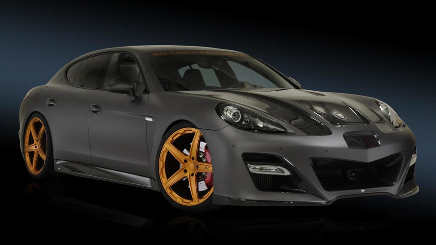 Porsche Panamera GP-870 by No-Limit-Custom [video]