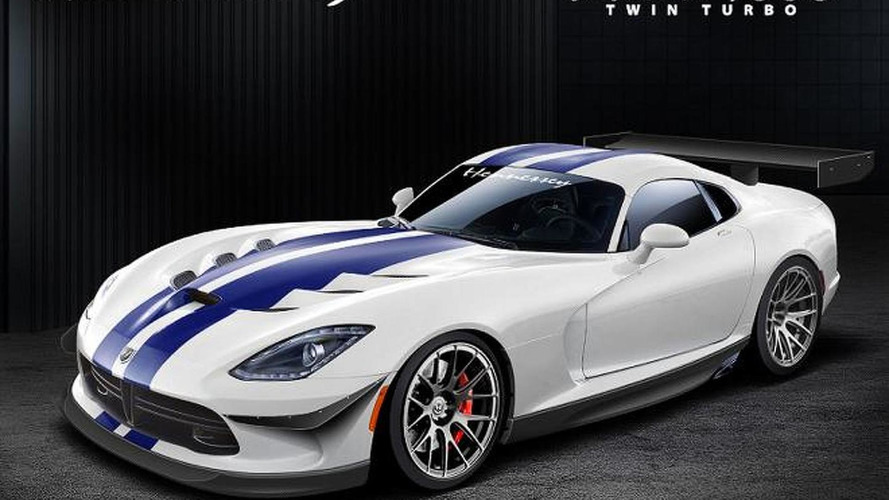 Hennessey Viper-based Venom 700R and 1000 Twin Turbo rendered