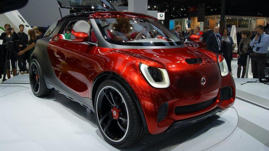 Smart Forstars concept unveiled in Paris