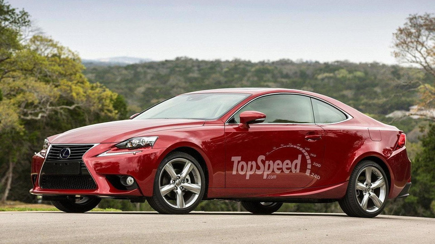 Lexus IS Coupe gets rendered