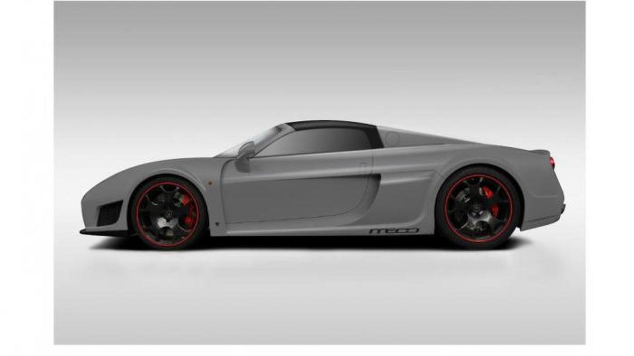 Noble M600 Roadster rendering 03.6.2013