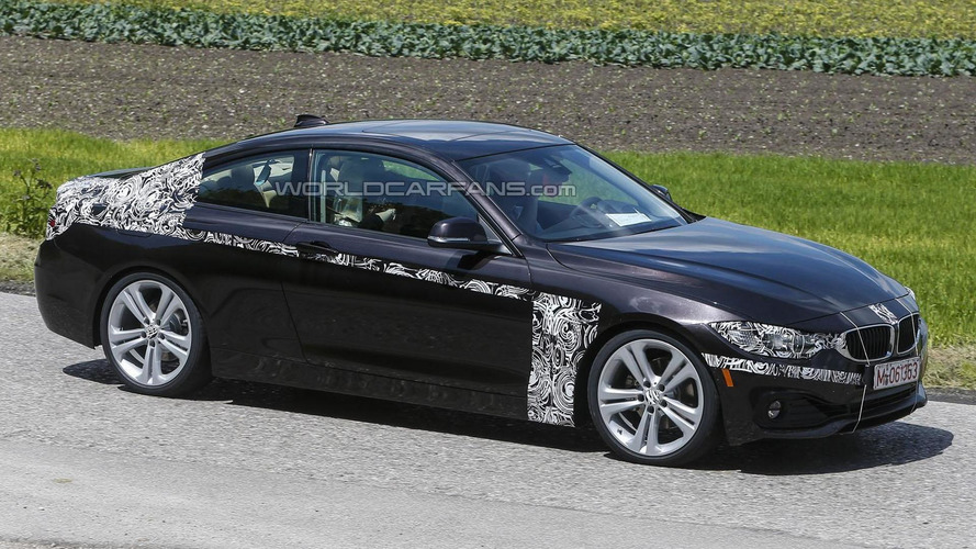 BMW 4-Series Coupe & Convertible spied with little disguise