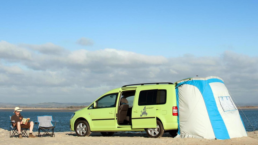 Volkswagen Caddy Maxi Camper announced